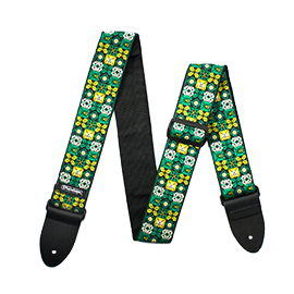 Green Guitar Straps