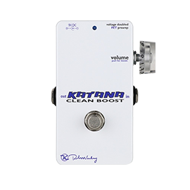 Keeley Boost Pedals