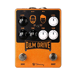 Signature Overdrive & Distortion Pedals
