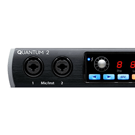 Presonus Quantum Thunderbolt Interfaces