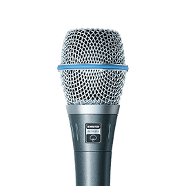 Shure Beta Microphones