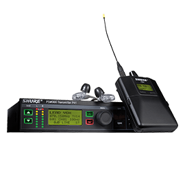 Shure PSM Personal Monitor Systems