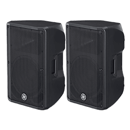 Yamaha DBR Series Active PA Speakers