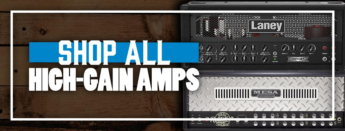 Shop All High-Gain Amps