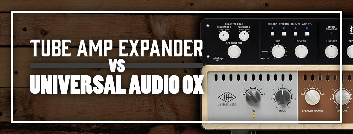 BOSS Tube Amp Expander vs. Universal Audio OX