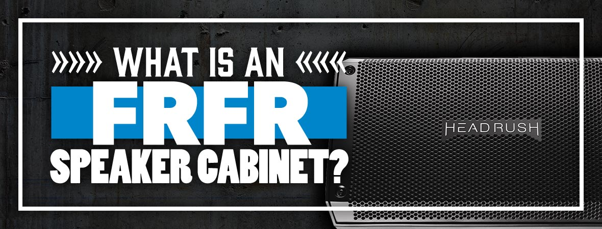 What is an FRFR speaker cabinet?