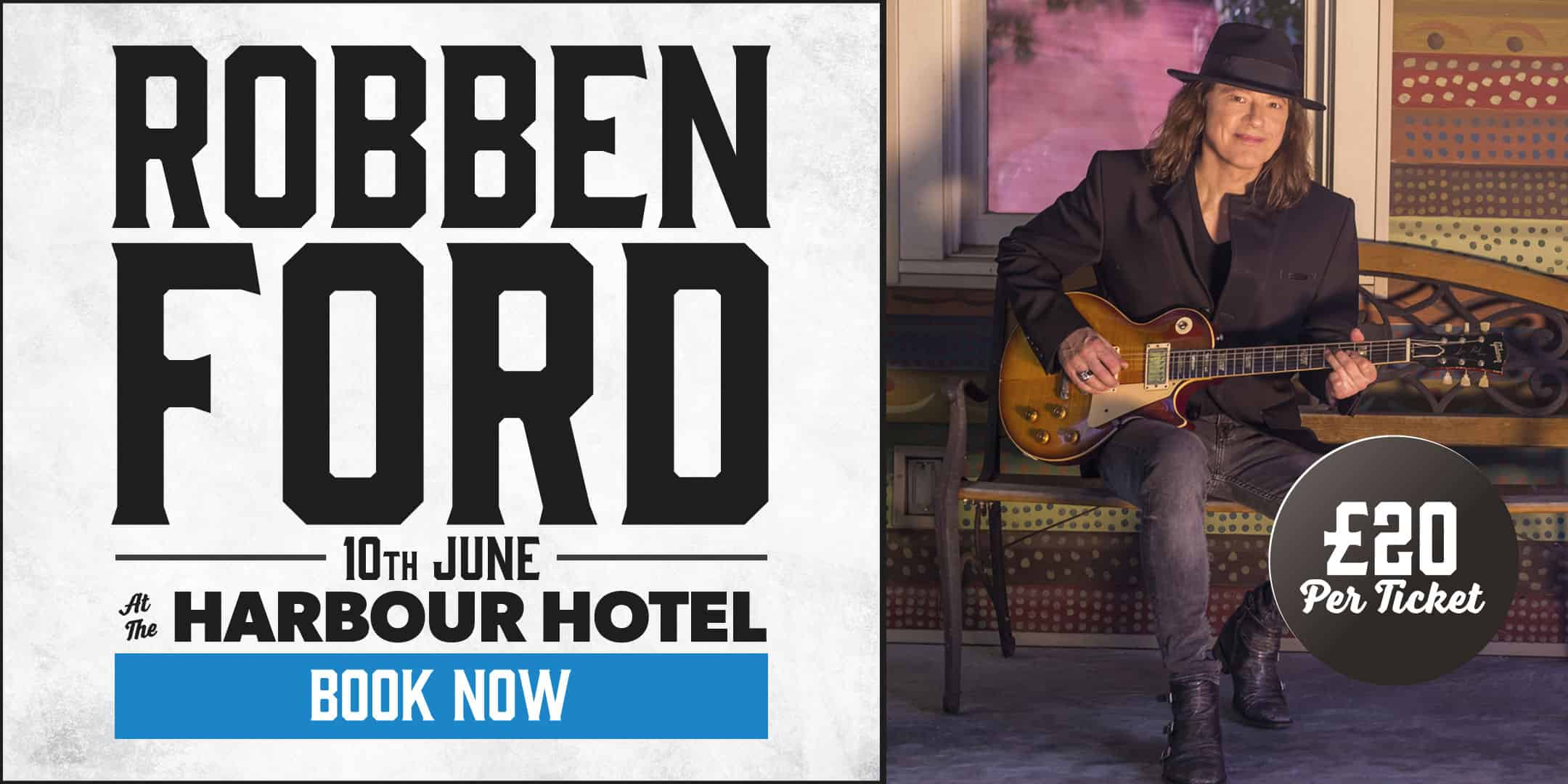 Andertons Music Co. Events - Robben Ford Masterclass at The Harbour Hotel, Guildford