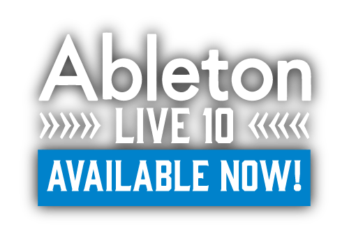 Ableton Live 10 available now