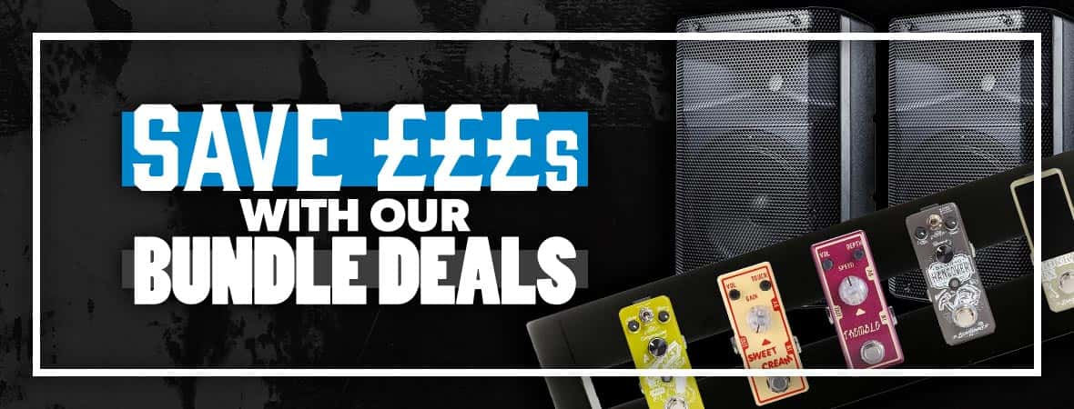 Buy together and save - musical instrument bundles at Andertons Music Co!