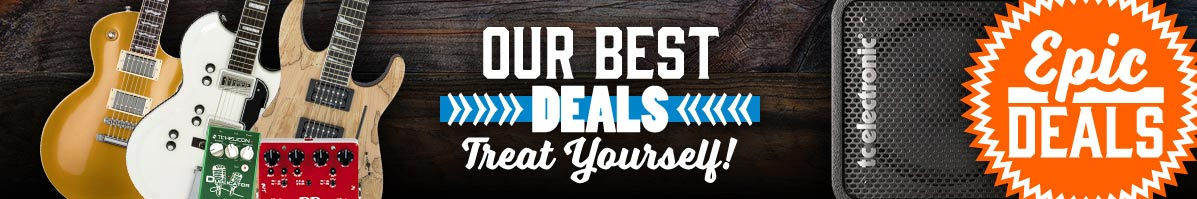 Click here to view the best deals on the hottest gear - only at Andertons Music Co!