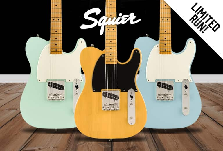 Iconic 50's Squier Esquire - In stock now!