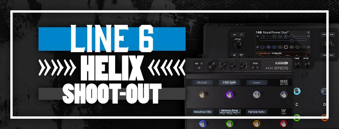 Line 6 Helix vs Helix LT vs HX Multi-Effects & HX Stomp