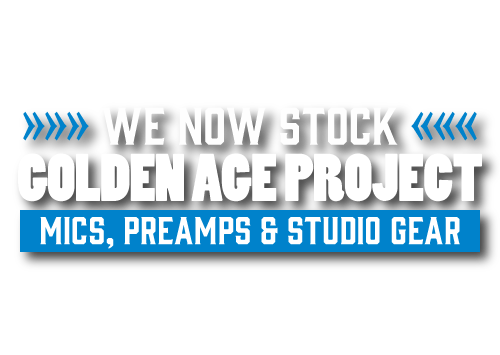 We now stock Golden Age Projects
