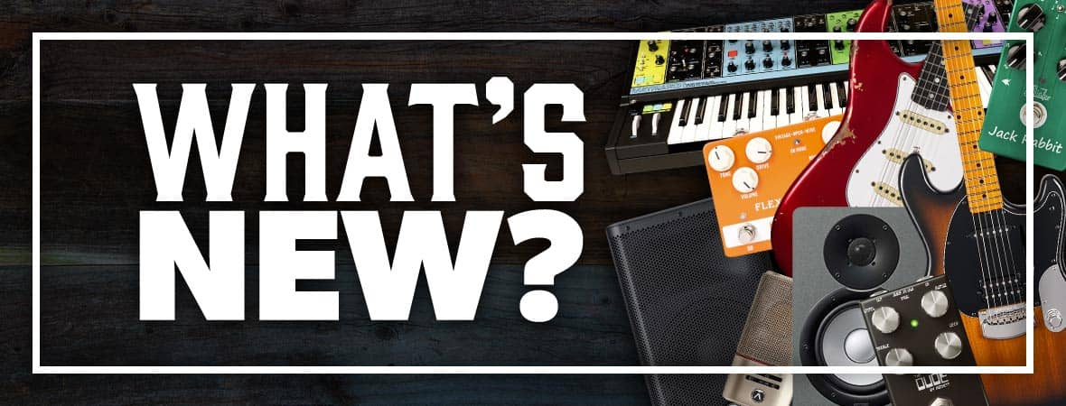The latest new guitars, drums, keys, synths and pro-audio gear at Andertons Music Co!
