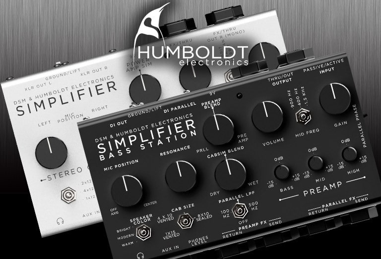 Simplifier Bass Station, the ultimate preamp & cab sim Guitar Segment