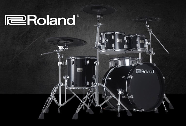Roland VAD506, acoustic look, electronic heart Drum segment