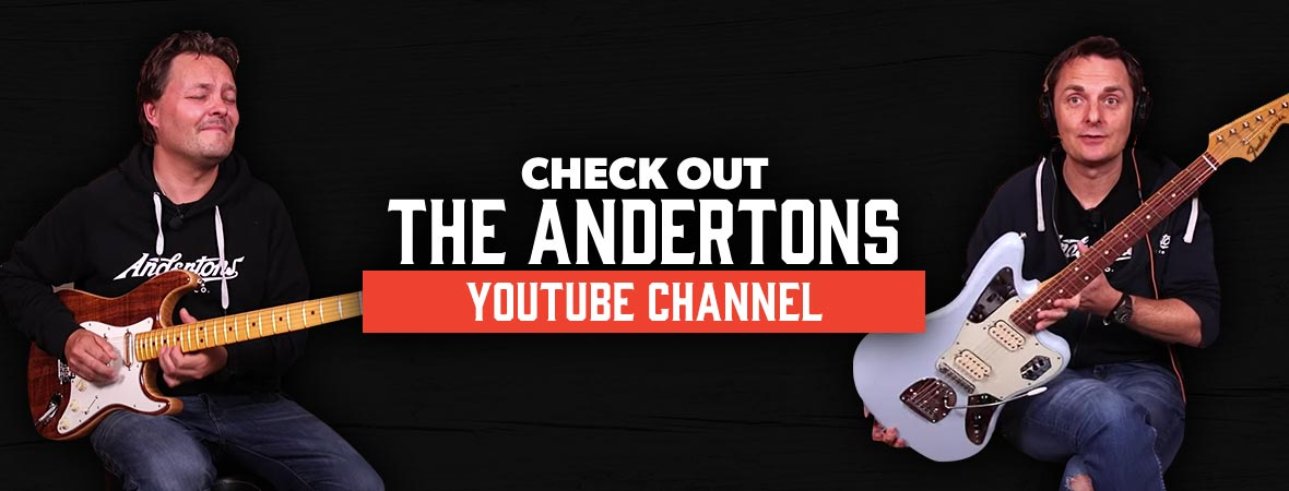 Andertons Youtube