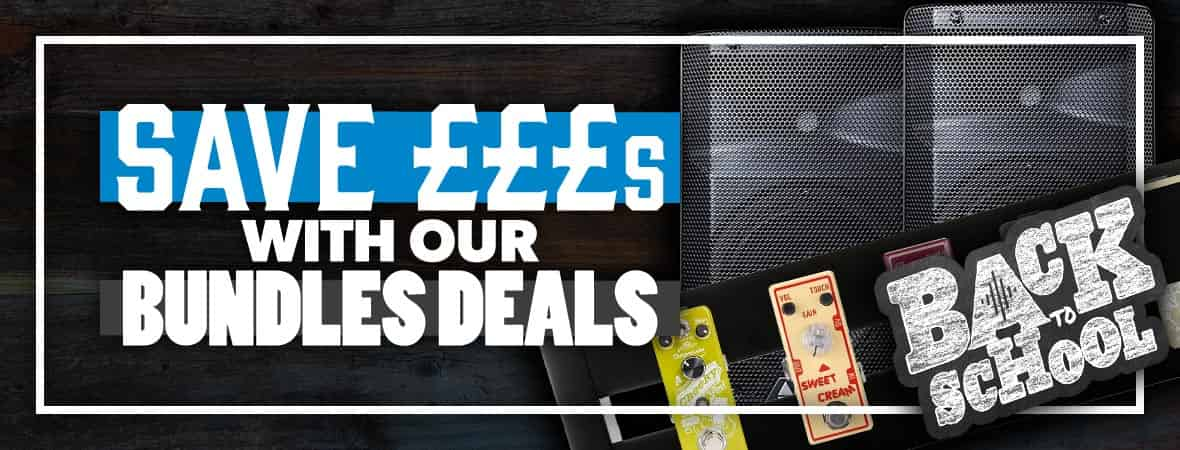 Save Money With Instrument Bundles at Andertons Music Co.