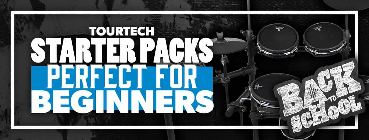 Tourtech Electronic Drum Kits - the best entry-level drums on the market? Andertons Music Co.