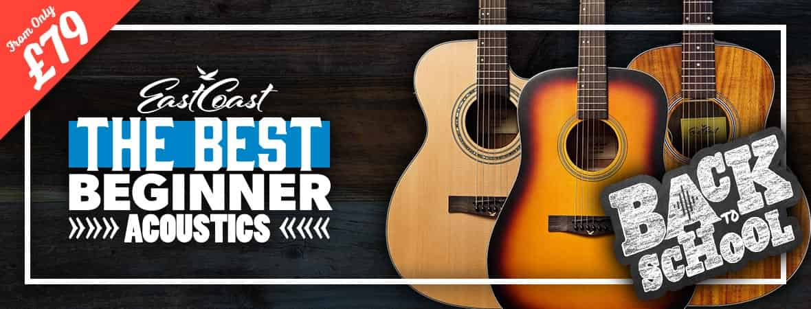 EastCoast Beginner Acoustic Guitars at Andertons Music Co.