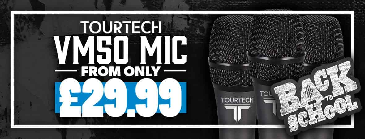 Tourtech microphones - the best entry-level mic on the market? Andertons Music Co.