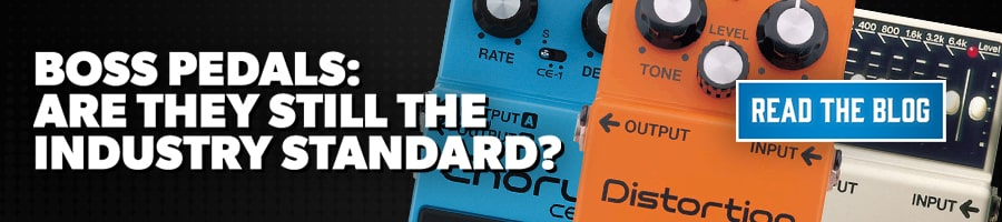 BOSS Pedals Industry Standard Blog PLP