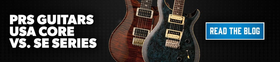 PRS Guitars - USA Core vs. SE Series Blog PLP