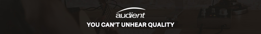 Audient You can't unhear quality