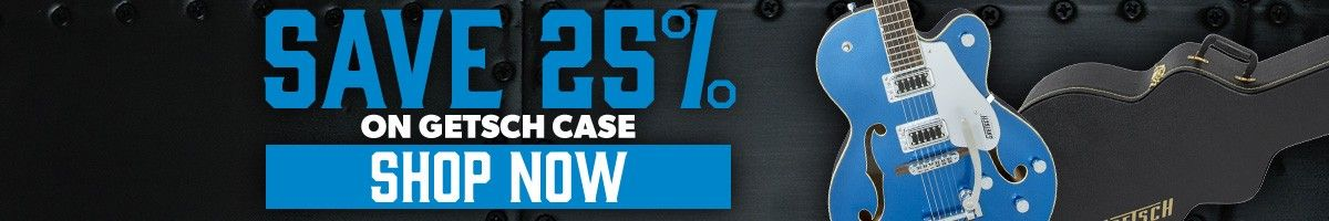 25% Off Gretsch Official Cases