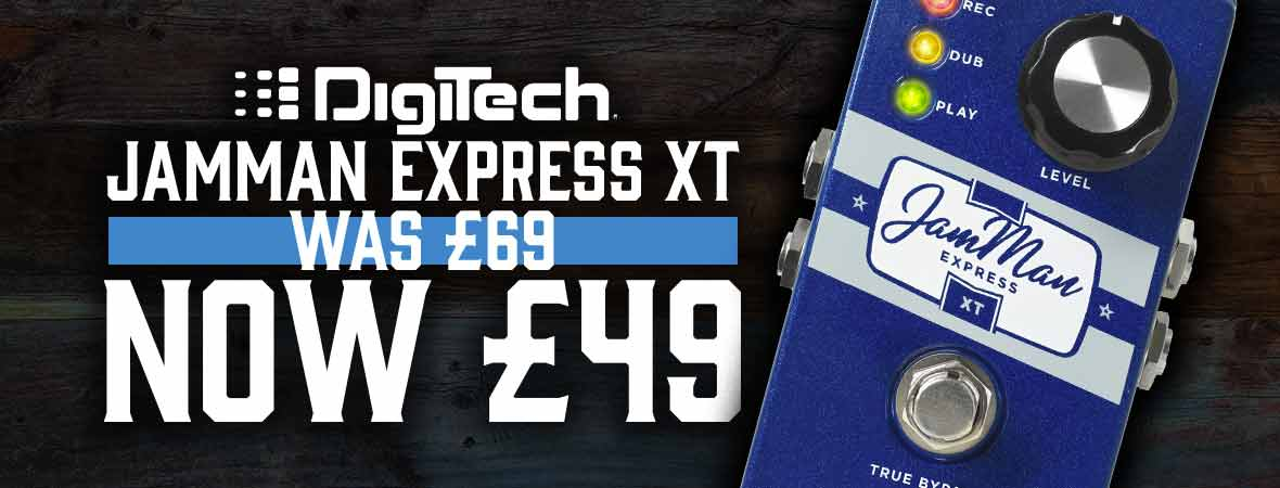 Digitech Jamman XT Express Epic Deal at Andertons Music Co.