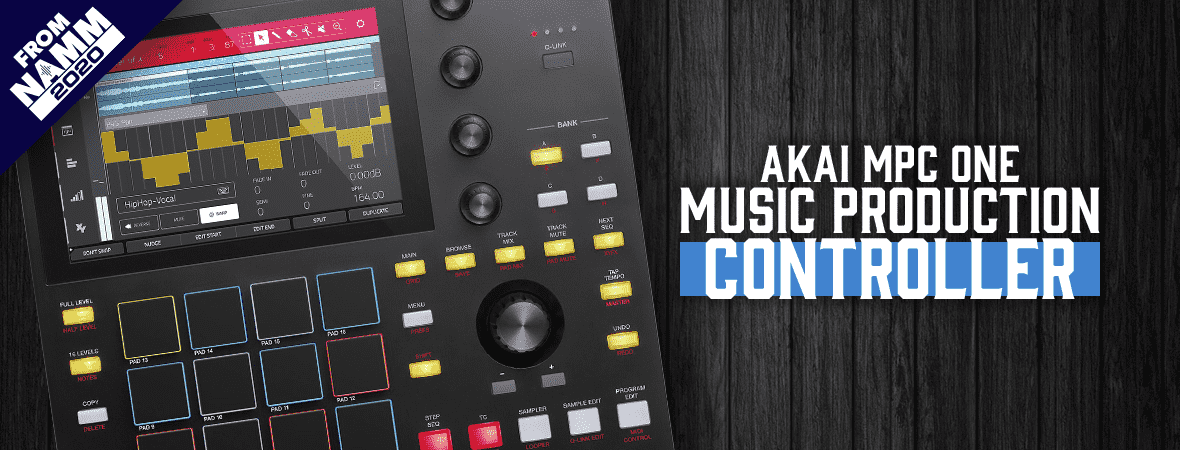 Akai MPC One at Andertons Music Co.