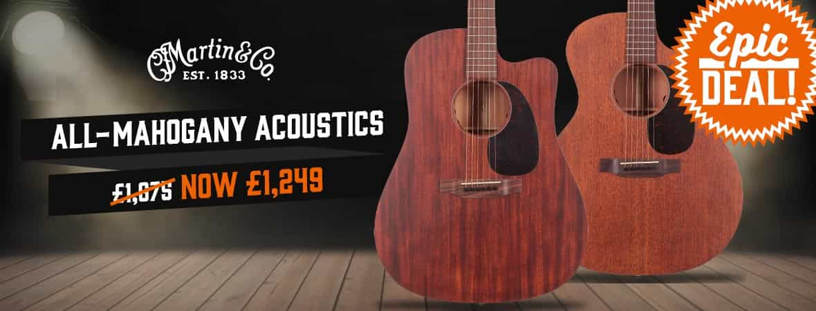 Martin Guitars Epic Deal at Andertons Music Co.