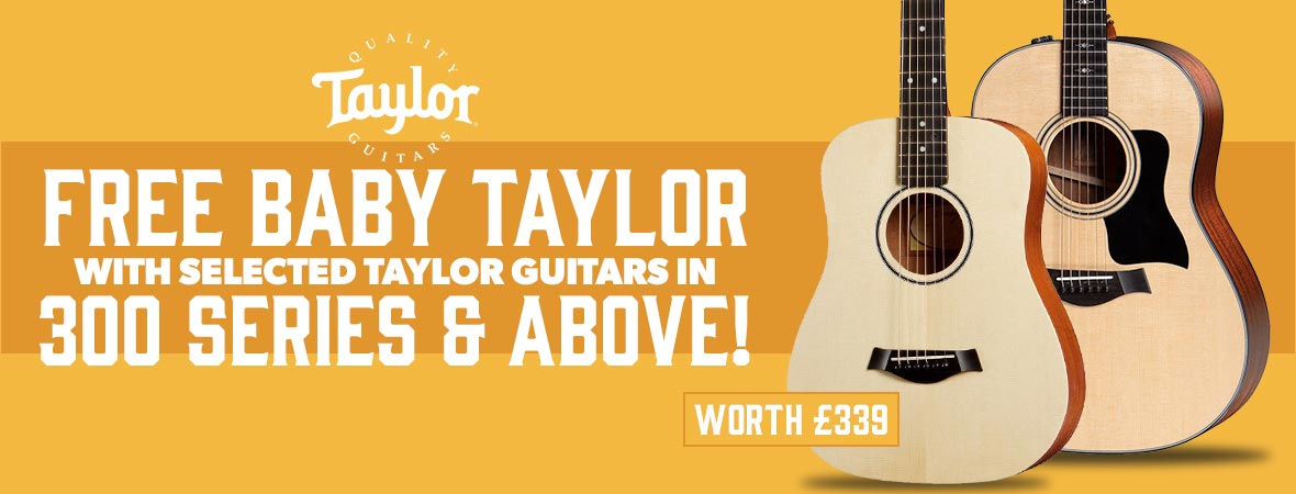 Taylor Free Baby Taylor Revolving Banner