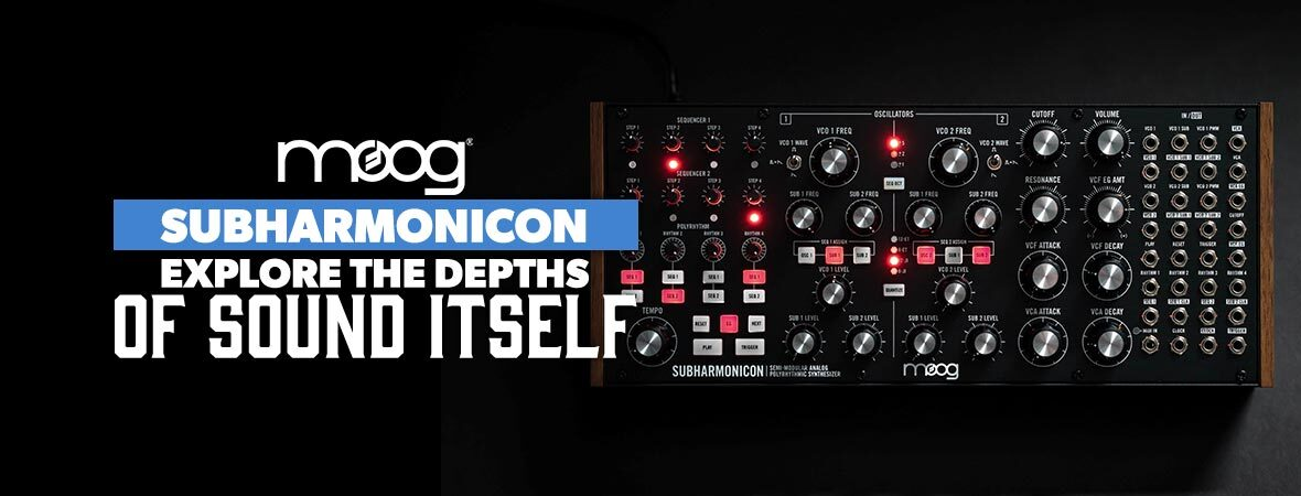 Moog Subharmonicon at Andertons Music Co.
