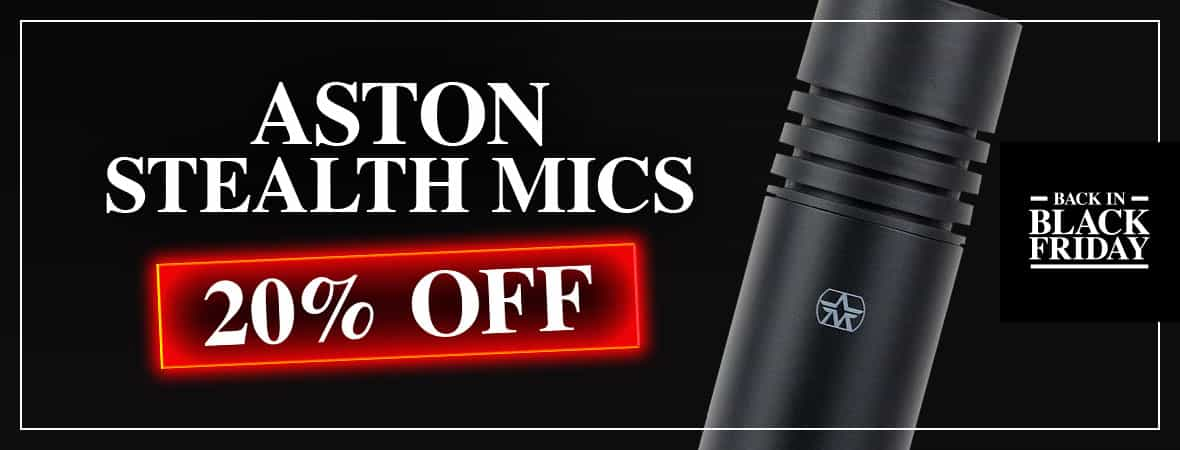 Black Friday Deal - Aston Stealth Microphone