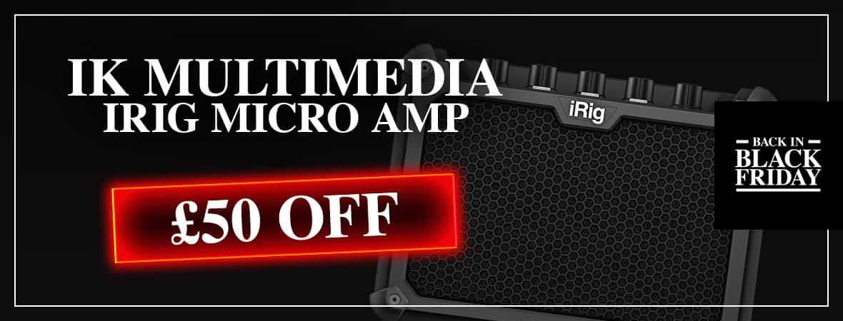 Black Friday Deal - iRig Micro Amp