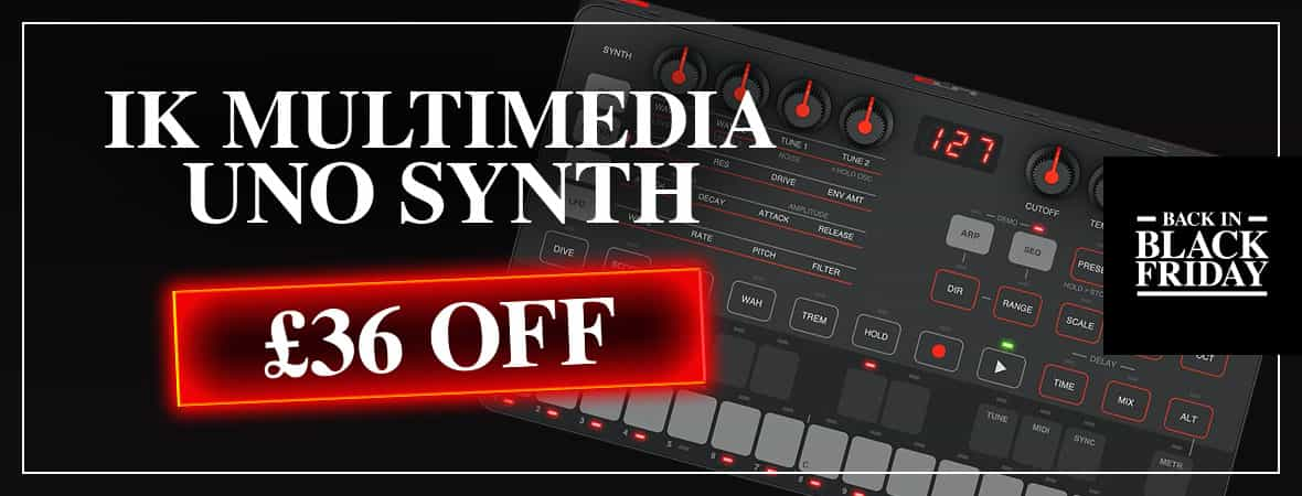 Black Friday Deal - IK Multimedia Uno Synth