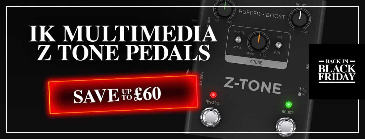 Black Friday Deal - iRig Pedals