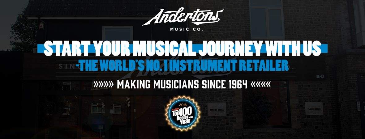 Best for Beginners at Andertons Music Co.