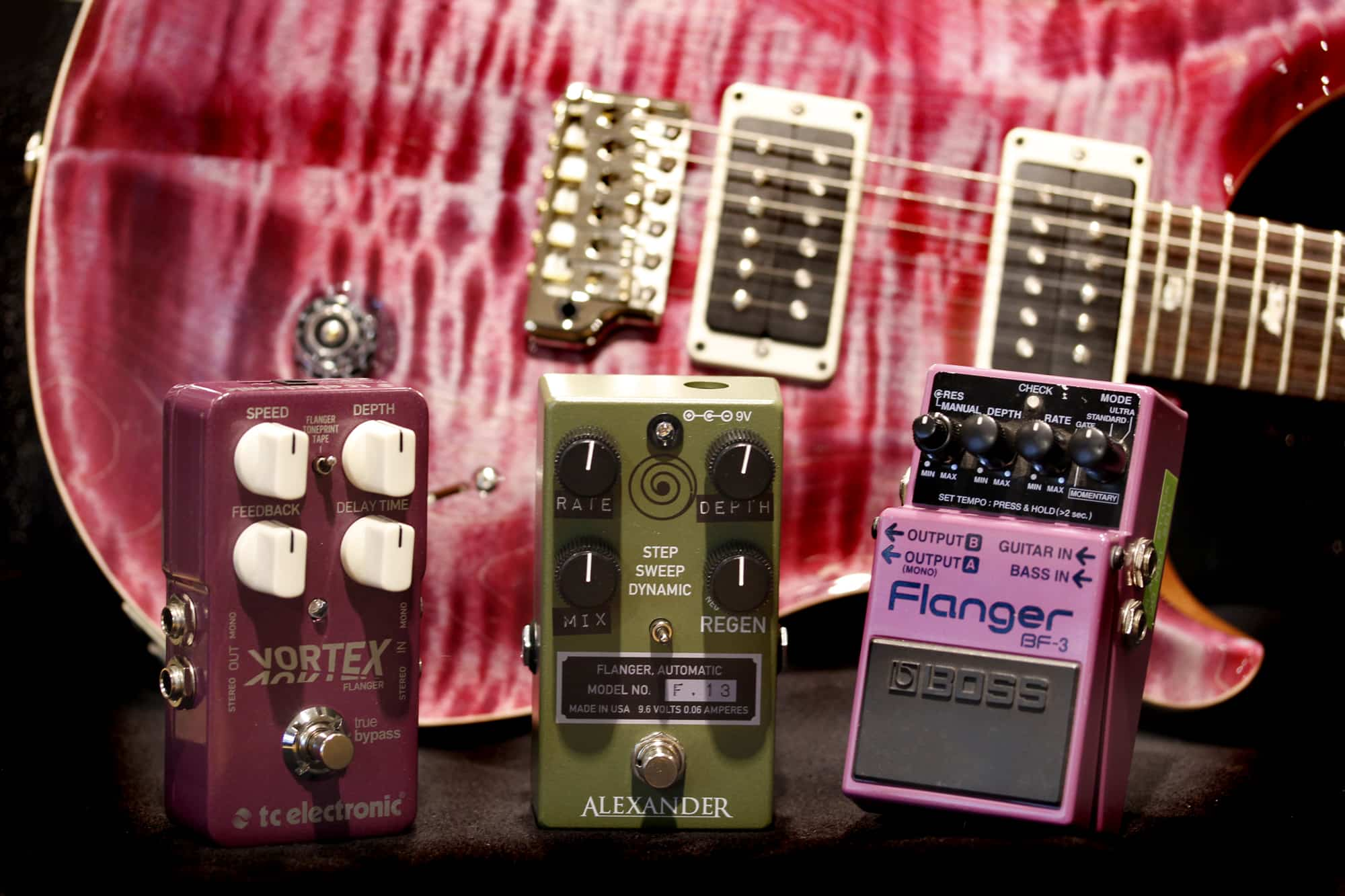 Guitar Flanger Pedals Your Ultimate Guide From Andertons Music Co Electric Diagram Intuitive