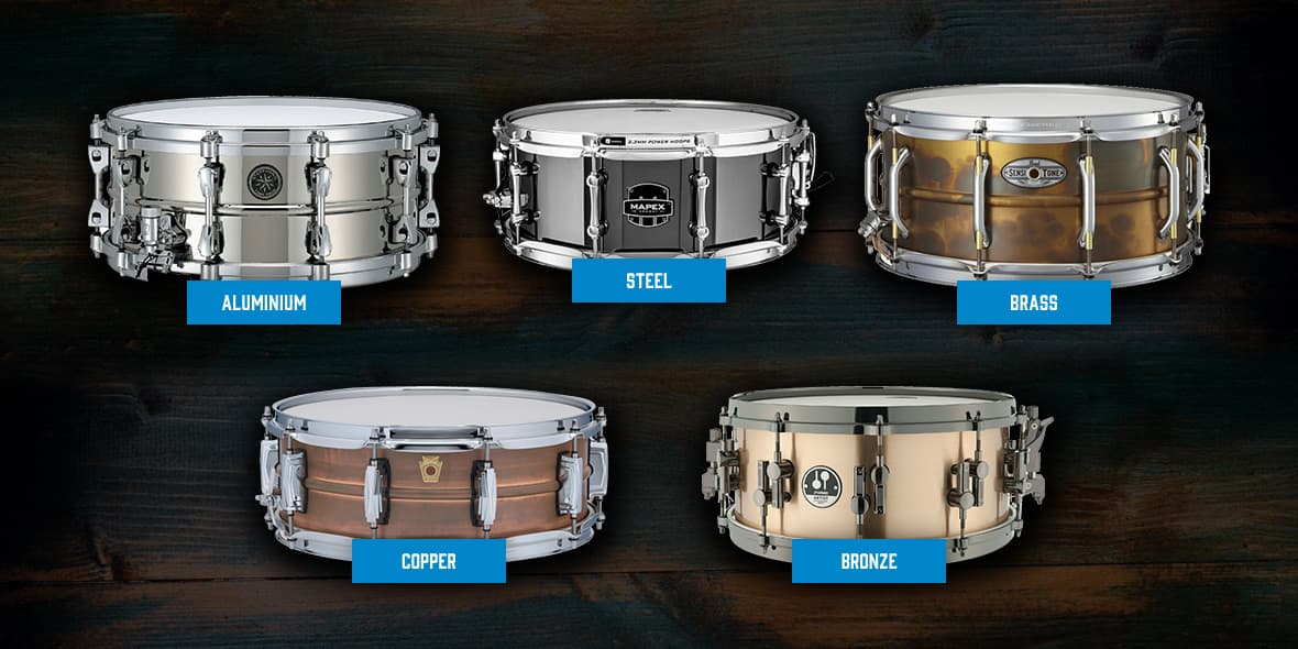 snare drum guide materials and construction andertons music co. Black Bedroom Furniture Sets. Home Design Ideas