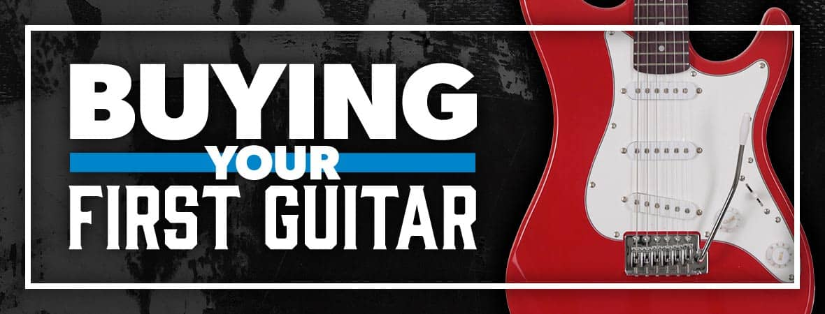 Buying your first guitar - Andertons Music Co.