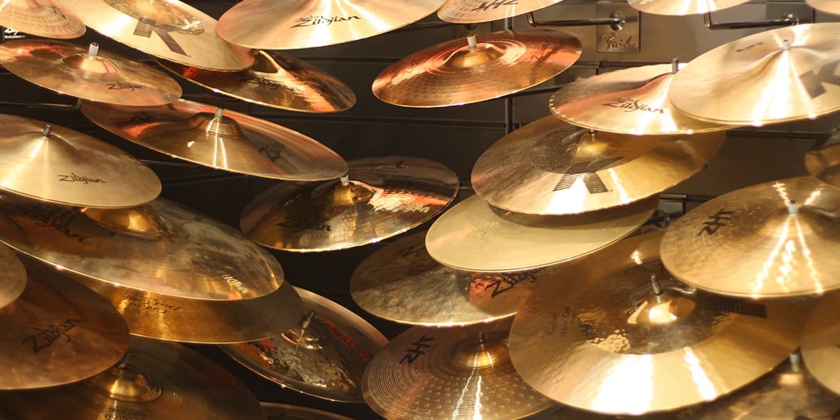 Beginners Guide To Cymbals - Andertons Music Co