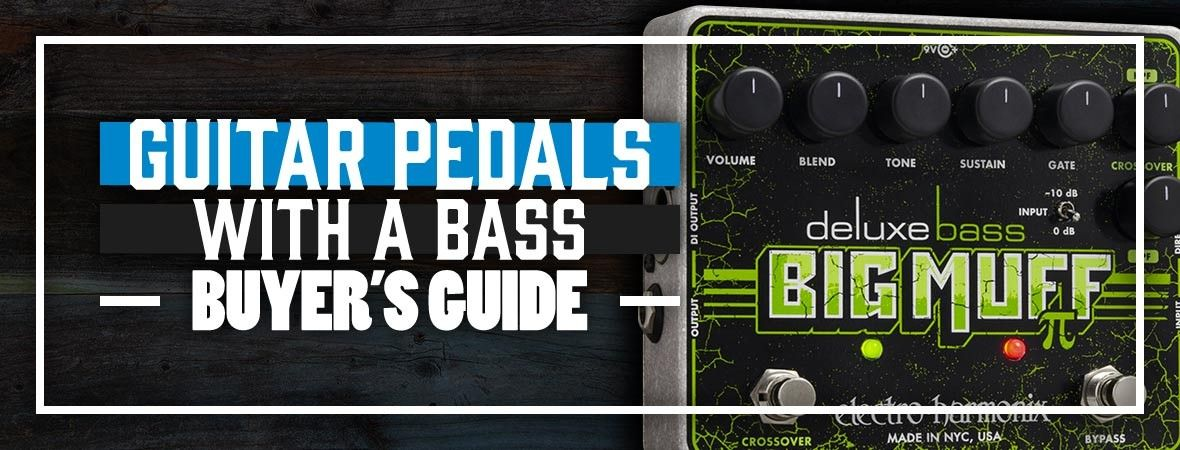 Can You Use Guitar Pedals With a Bass?