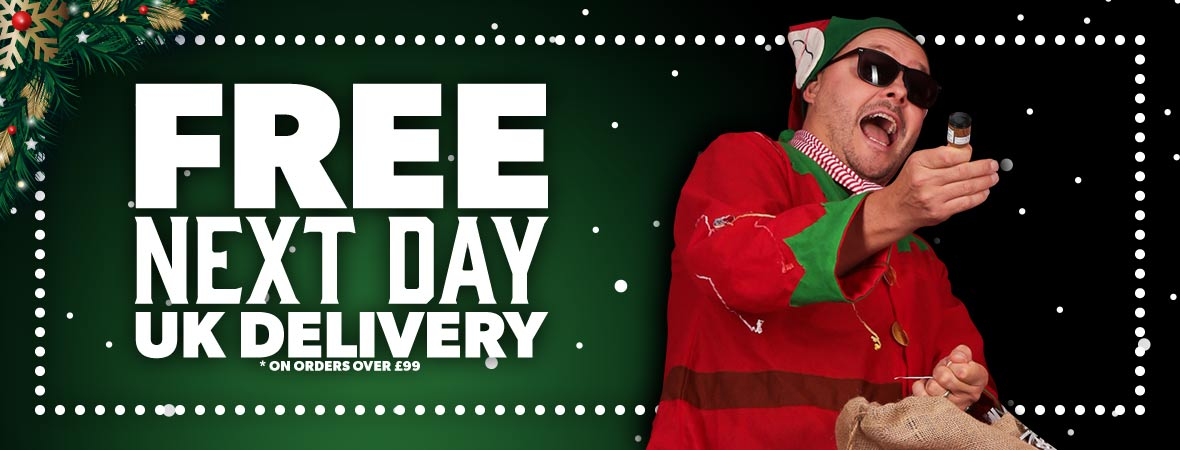 Andertons Free Next-Day UK Delivery