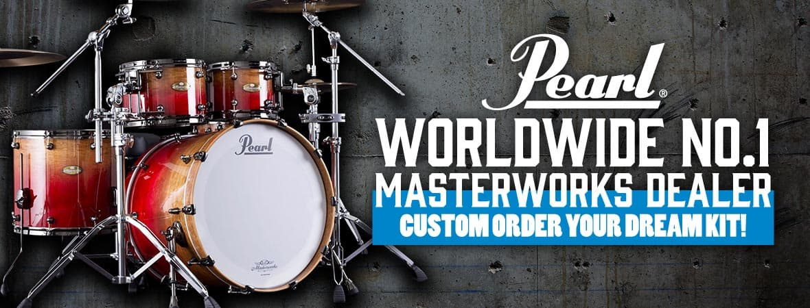 Design your very own Pearl Masterworks Drum Kit!