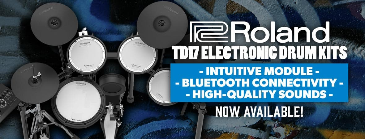Roland TD-17 Electronic Drum Kits
