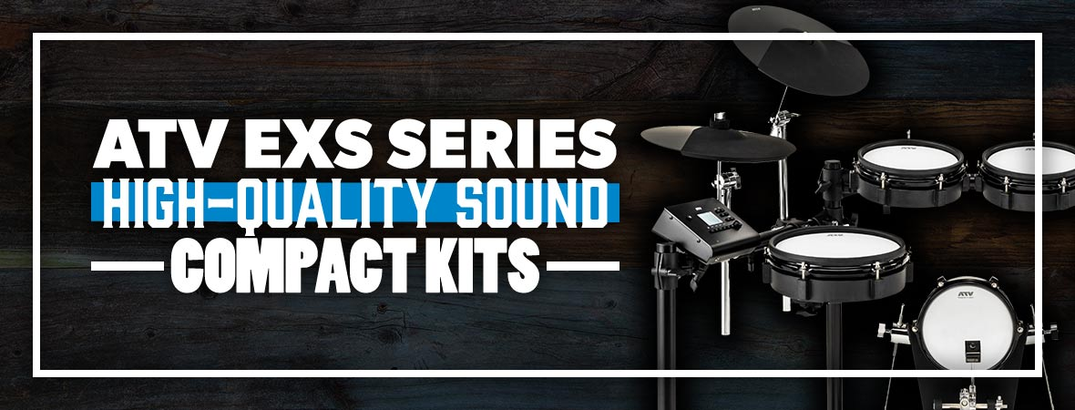 ATV EXS Series Electronic Drum Kits at Andertons Music Co.