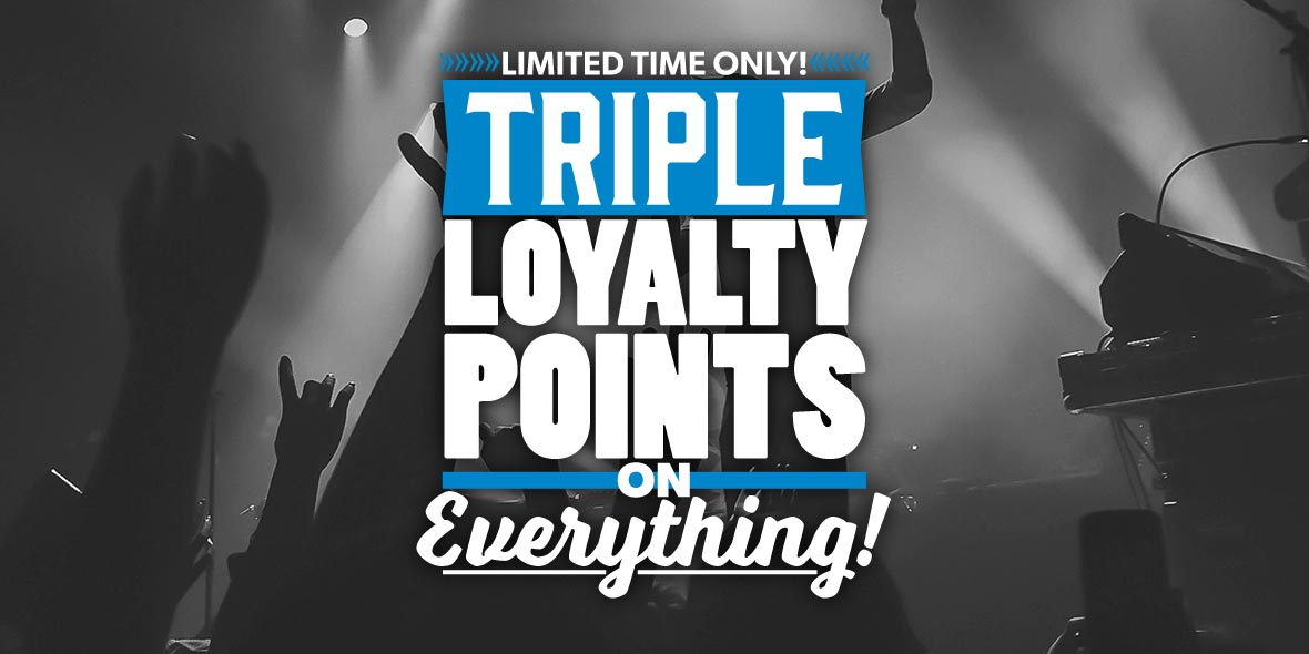 triple loyalty points