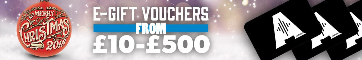 Gift Vouchers at Andertons Music Co!